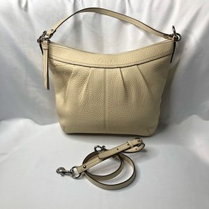Coach Off White Leather Crossbody Bag